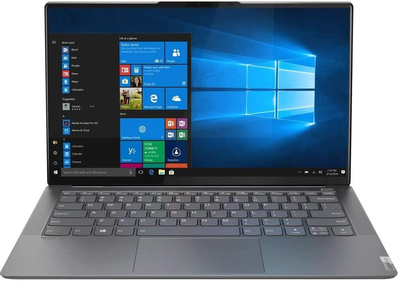 "Lenovo Ideapad S940 14""FHD Touch I7-1065G7 16 512GB SSD Grey 81R10000US"