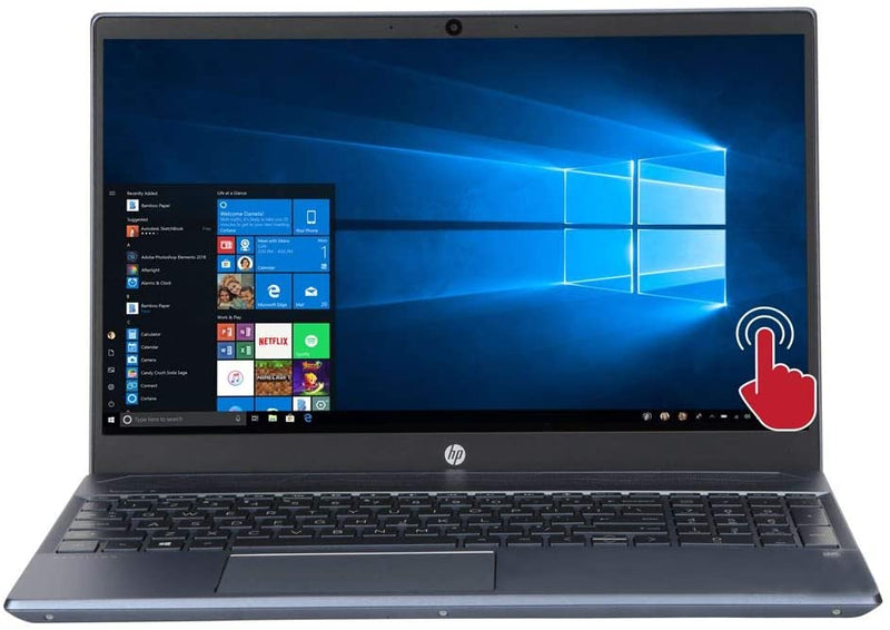 "HP PAVILION LATOP 15.6"" FHD TOUCH i7-1065G7 16 1TB HDD MX250 15-CS3073CL"