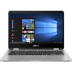 "ASUS VivoBook Flip 2IN1 14"" HD Touch N4020 4 64GB SSD Grey J401MA-DB02"