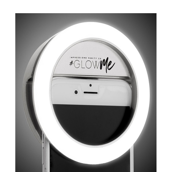 GLOWME 2.0 USB RECHARGEABLE LED SELFIE RING LIGHT - HEAVEN+HANNAH