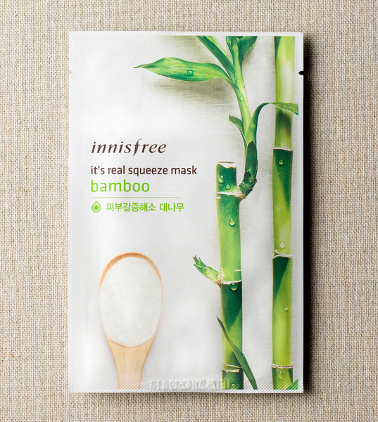 IT'S REAL SQUEEZE MASK - BAMBOO - HEAVEN+HANNAH