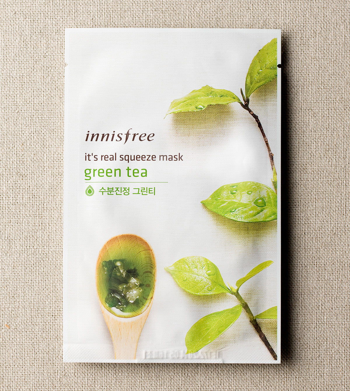 IT'S REAL SQUEEZE MASK - GREEN TEA