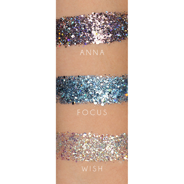 FACE AND BODY SEQUINS - FOCUS - HEAVEN+HANNAH