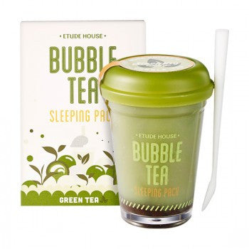 BUBBLE TEA SLEEPING PACK - GREEN TEA - HEAVEN+HANNAH