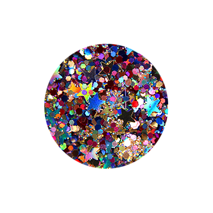 FACE AND BODY GLITTERS HEAVEN AND HANNAH SEQUINS