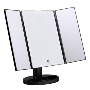 large impression led vanity mirror