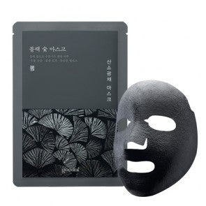 BLACK CHARCOAL MASK (5 sheet masks) - HEAVEN+HANNAH