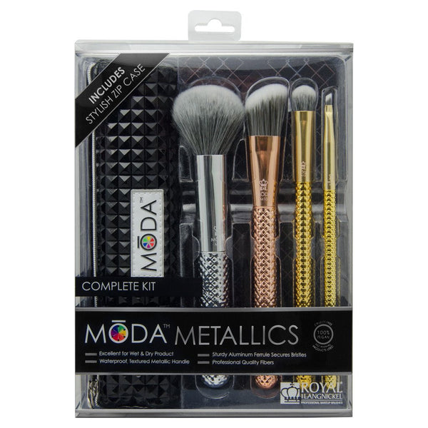 METALLICS 5 PIECE COMPLETE KIT - HEAVEN+HANNAH