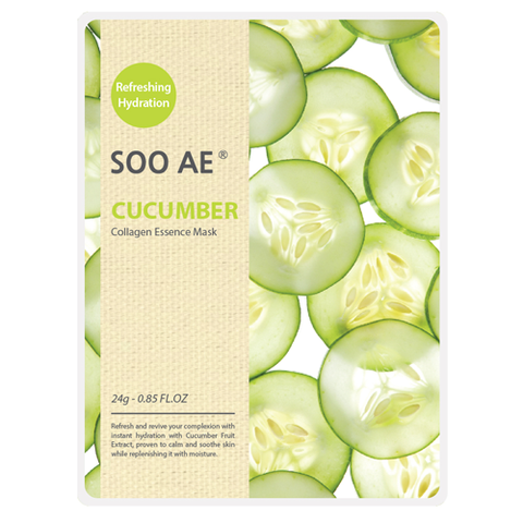 NATURE COLLAGEN ESSENCE CUCUMBER MASK