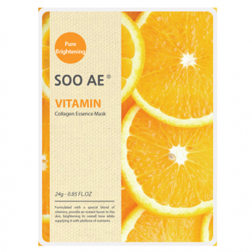 SOO AE NATURE COLLAGEN ESSENCE VITAMIN SHEET MASK - HEAVEN+HANNAH