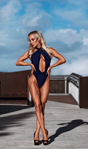 Navy Swimsuit