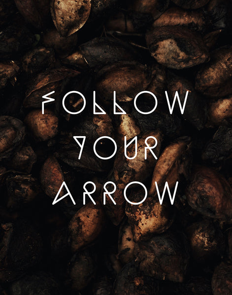 "Tribal Poster or Print ""Follow Your Arrow"""