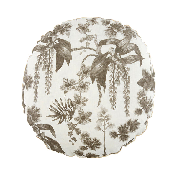 Dancing Lady Orchid Grey Round 55cm