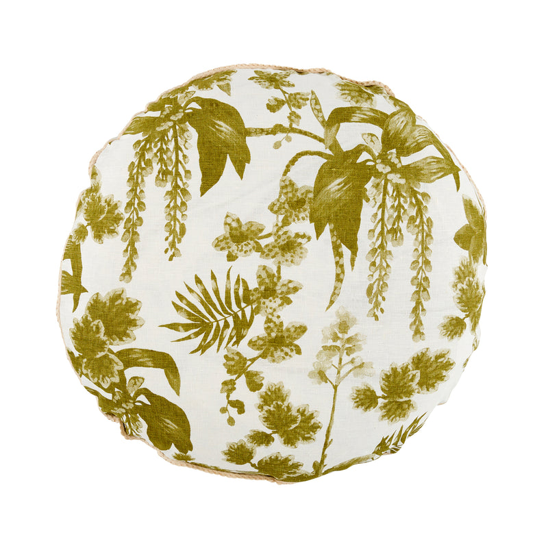 Dancing Lady Orchid Khaki Round 55cm