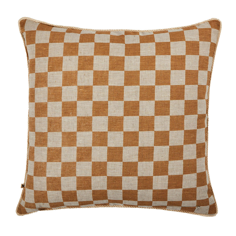 Small Checkers Wheat 60cm