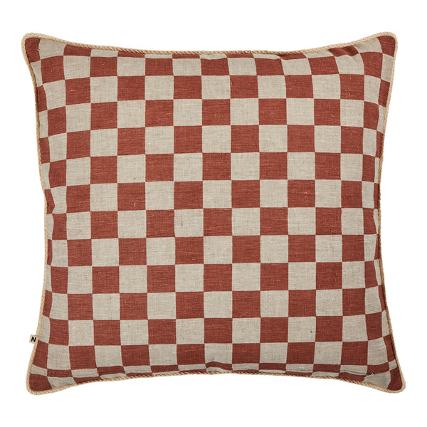 Small Checkers Terracotta 60cm