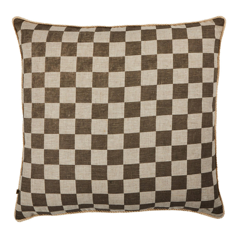 Small Checkers Grey 60cm