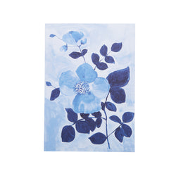 Tea Rose Blue Card