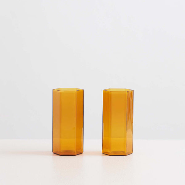 Coucou Tall Glass Set Miel