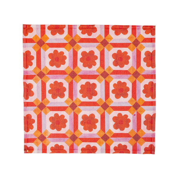 Aster Orange (set of 6)