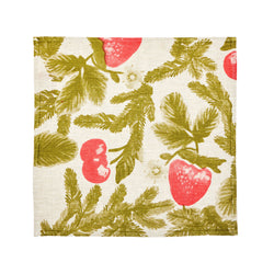 Festive Berry Khaki (set of 6)