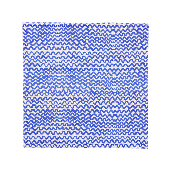 Tiny Waves Yves Klein Blue (set of 6)