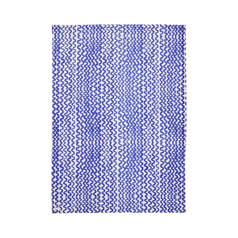 Tiny Waves Yves Klein Blue