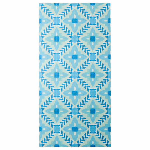 Deco Flower Tile Light Blue