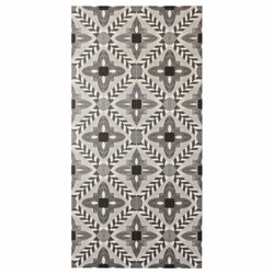 Deco Flower Tile Black