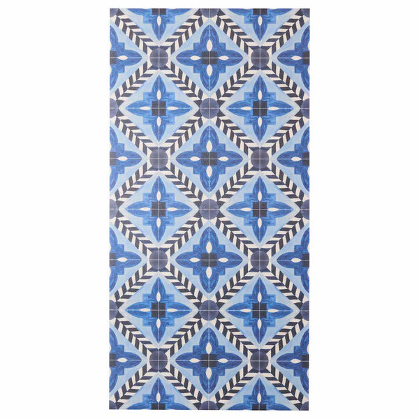 Deco Flower Tile Blue