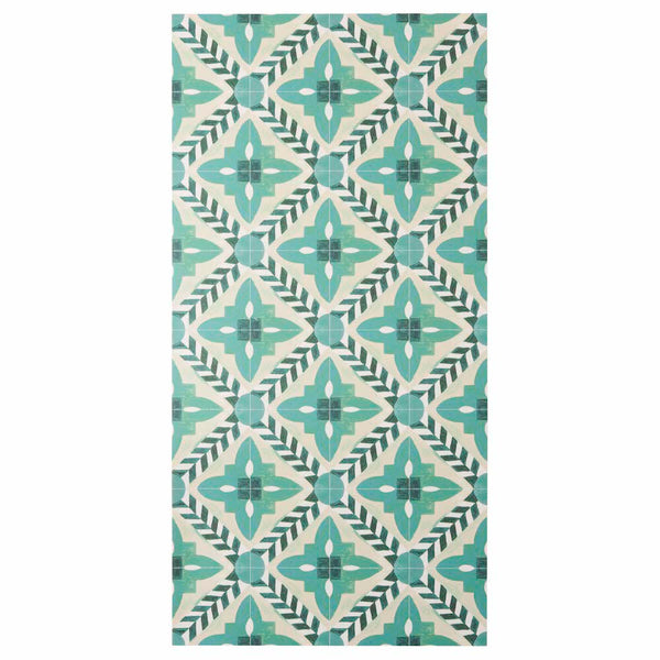 Deco Flower Tile Green