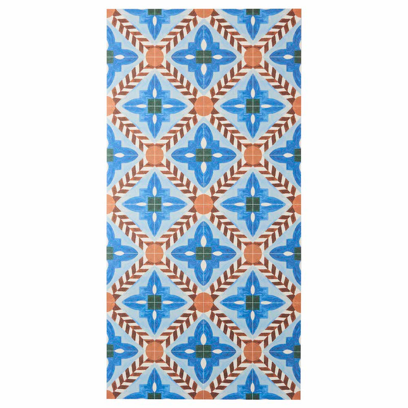 Deco Flower Tile Multi