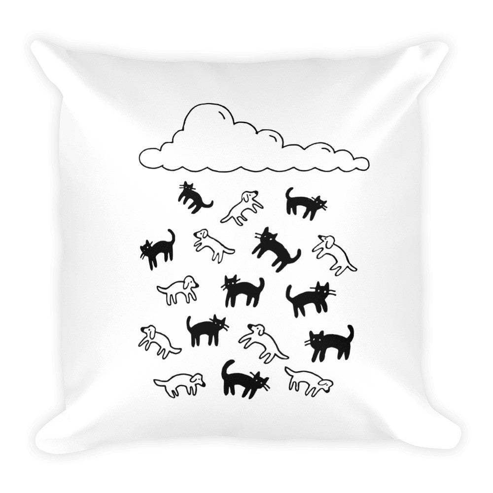 Cats and Dogs Pillow