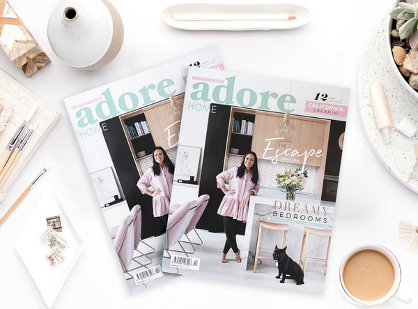 Adore Home Magazine and J'Jute