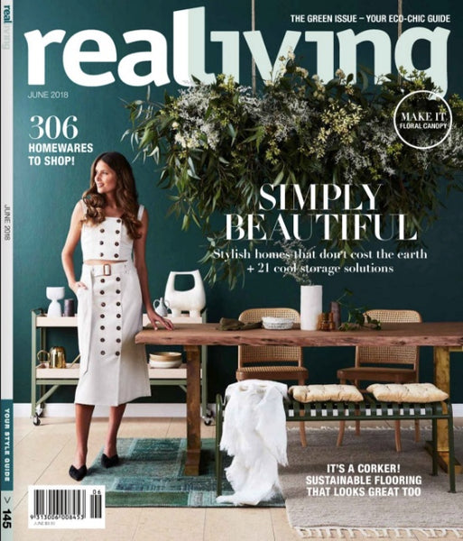 REAL LIVING JUNE 2018 MAGAZINE J'JUTE BASKETS