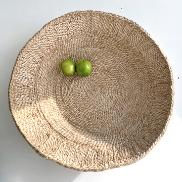 OUTLET - Bartolo Tray Basket - NATURAL