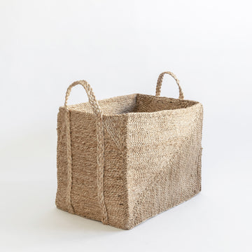 J'JUTE ALLORA DIAGONAL MEDIUM BASKET JUTE BASKET