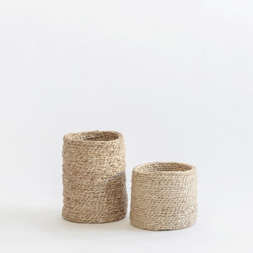 J'JUTE PETITE JUTE BASKETS NATURAL