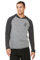Great Outdoors - Men's Performance Triblend Long Sleeve Hooded Pullover Mountains Are Calling