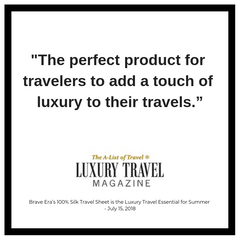 Brave Era in Luxury Travel Magazine