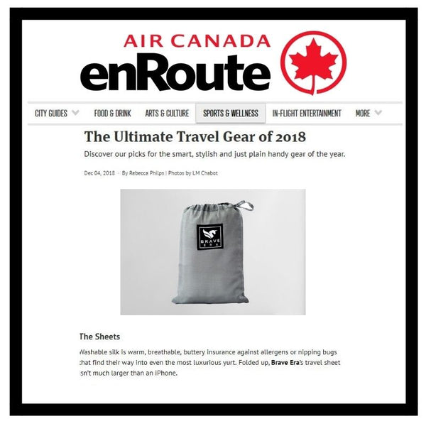 The Ultimate Travel Gear of 2018 According to Air Canada enRoute Magazine