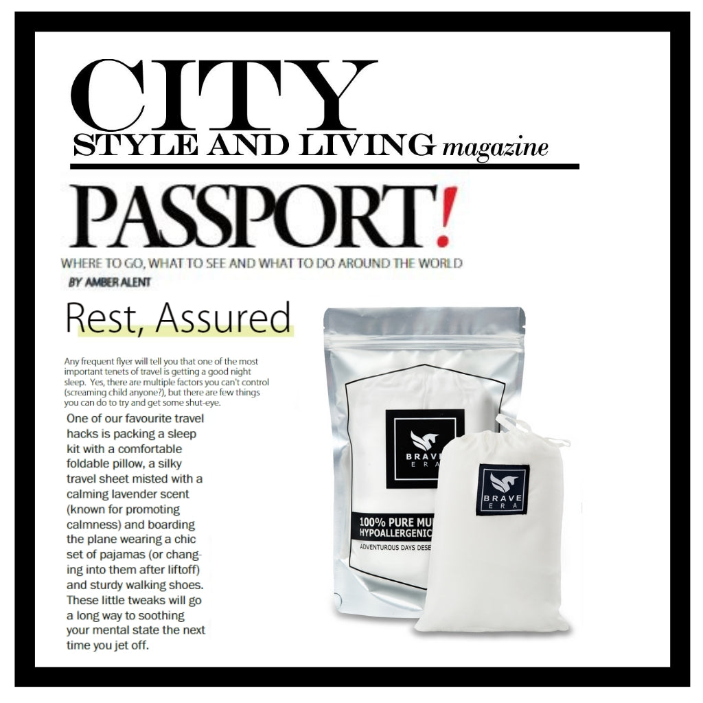 Brave Era in City Style and Living Magazine