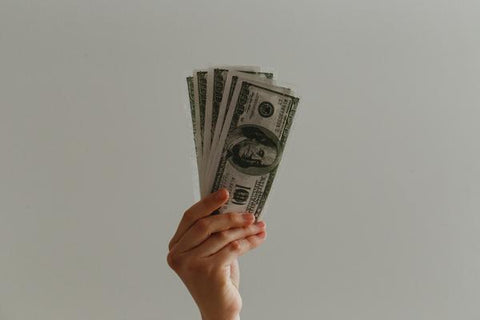 Cleanliness Tips for a Safer and Cleaner Travel - a hand holding a couple of money