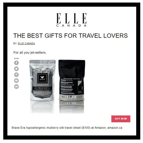 Travel lover gift guide by Elle Canada
