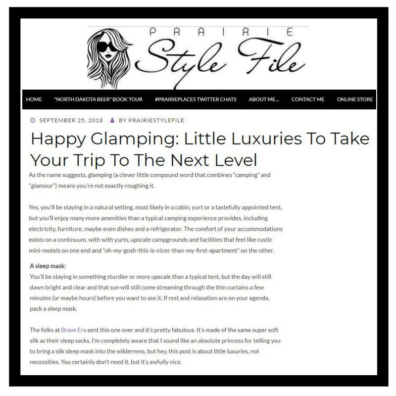 Happy Glamping: Little Luxuries To Take Your Trip To The Next Level