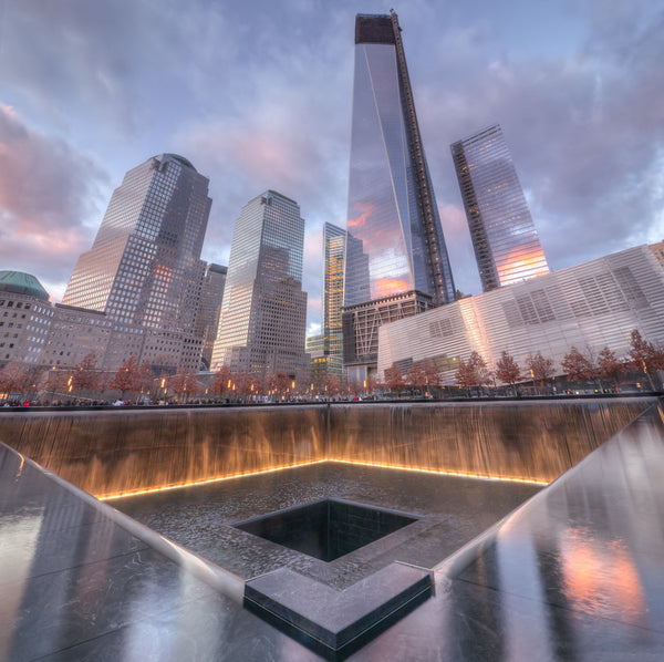 The 9/11 Memorial - Manhattan