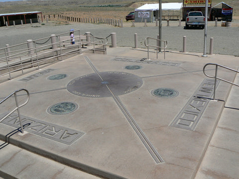 The Four Corners, Teec Nos Pos, Arizona