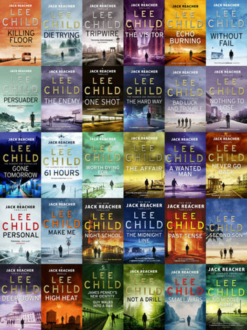 "The ""Jack Reacher"" Series, by Lee Child"