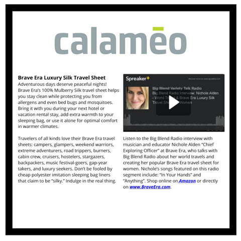 Let's see what calameo.com would have to say about Brave Era's 100% Mulberry Silk Travel Sheet.