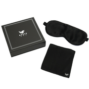 100% Silk Sleep Mask with Compact Travel Pouch and Luxury Gift Box by BRAVE ERA - Brave Era
